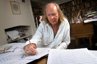 John Tavener composing Steve Forrest Insight-Visual