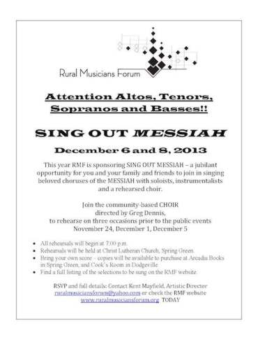 Rural Messiah 2013 poster 2