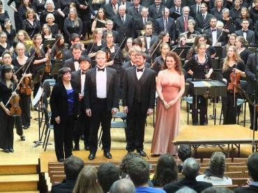 UW Choral Union 11-2013 Mendelssohn soloists