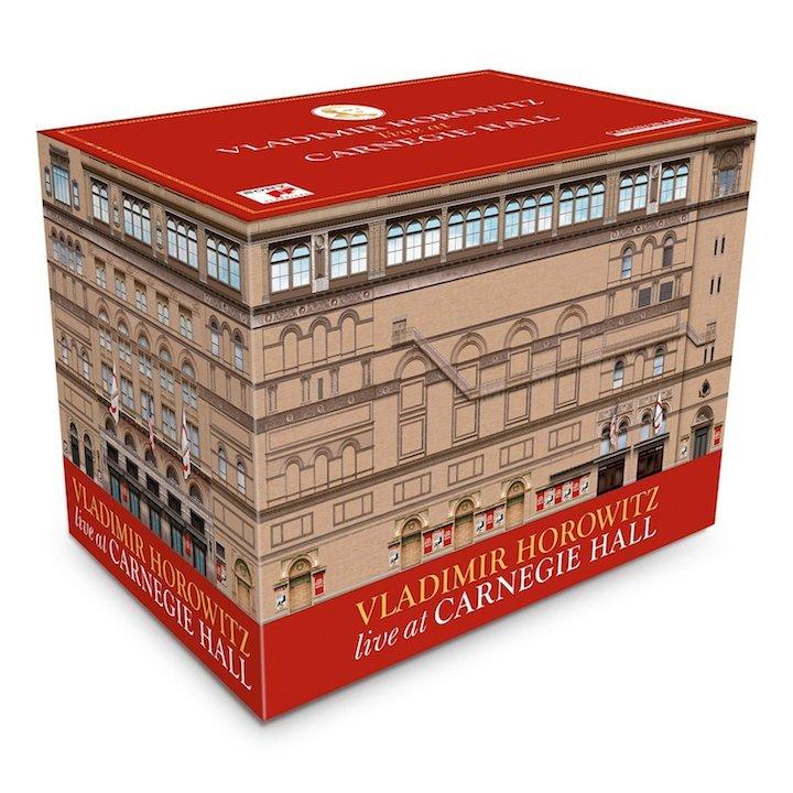 Vladimir Horowitz at Carnegie Hall CB whole box