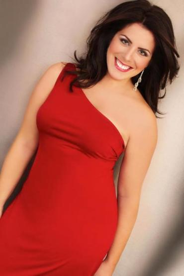 Emily Birsan 2013 in red
