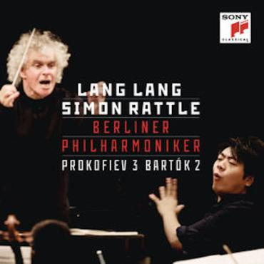 Lang Lang Prokofiev Bartok CD cover