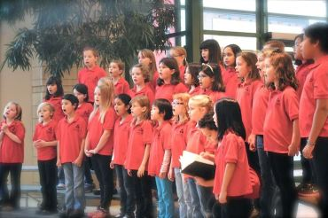 Madison Youth Choirs Choraliers by Cynthia Hawkinson