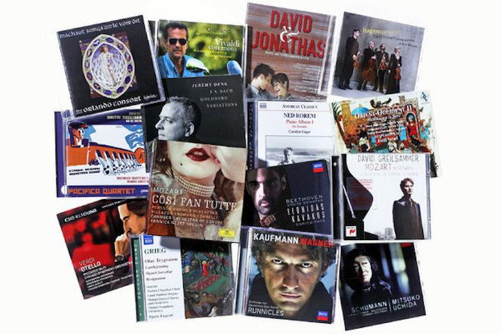 NY Times top 20 classical CDs 2013 Tony Cenicola for NYT