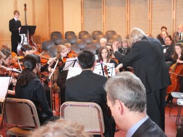 Rabin memorial WYSO Chamber Orchestra