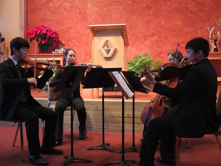 Rabin memorial WYSO string quartet