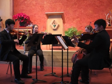Rabin memorial WYSO string quartet
