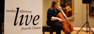 SAL logo and cellist