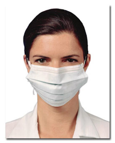woman with surgical mask