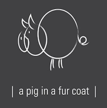 A Pig in a Fur Coat logo