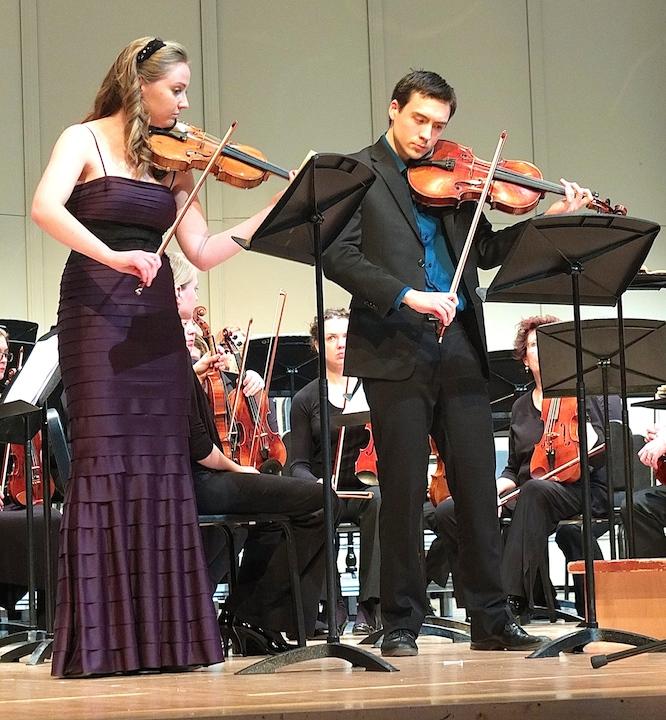 Eleanor Bartsch and Daniel Kim MCO Mozart