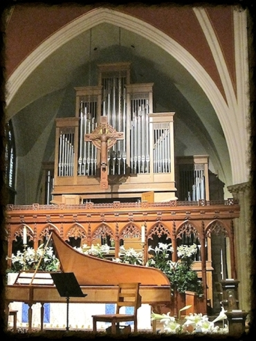 Grace Episcopal harpsichord