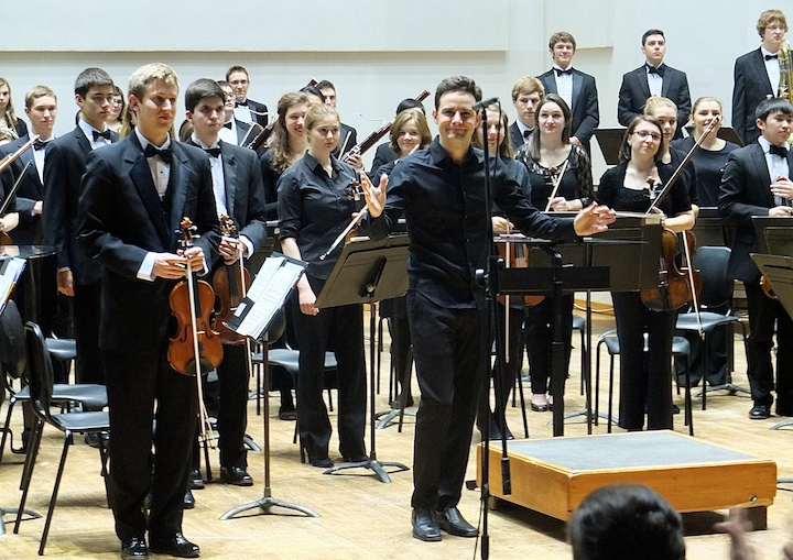 Kyle Knox and UW Symphony Orchestra