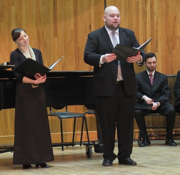Schubertiade 2014 Sarah Richardson  soprano and Thomas Leighton tenor