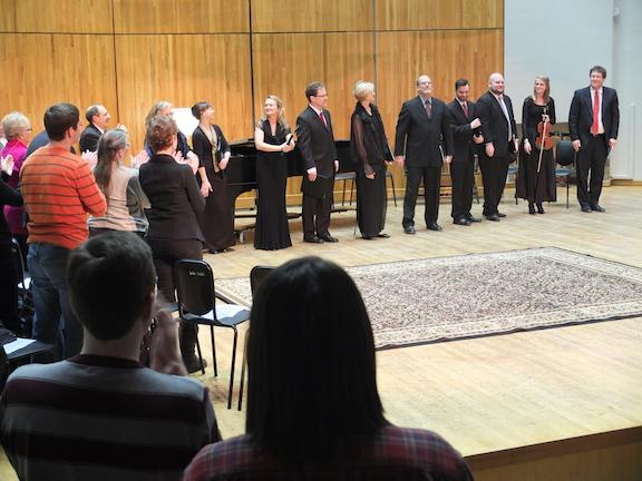 Schubertiade 2014 standing ovation