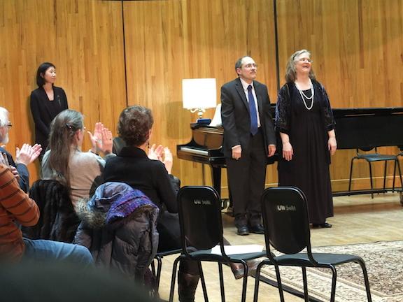 Schubertide 2014 Bil Lutes and Martha Fischer