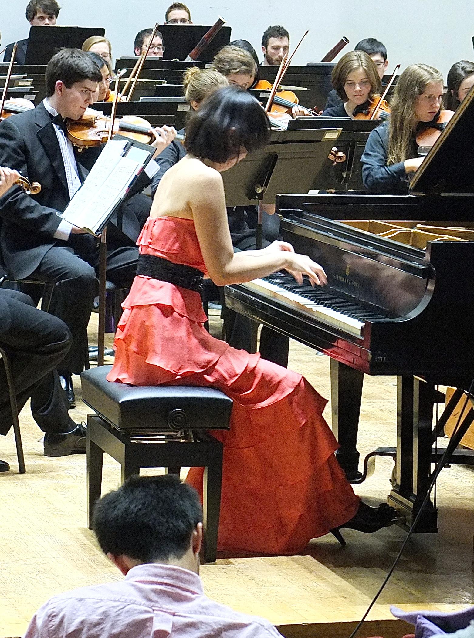 SeungWha Baek playing