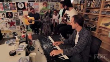 Tiny Desk Concert set at NPR