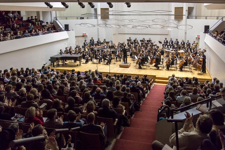 uw concerto winner 2014 big audience Michael R. Anderson
