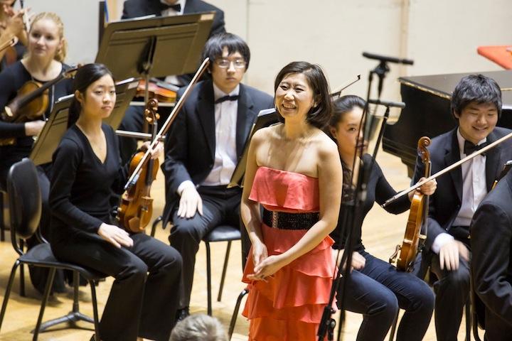 UW concerto winners SeungWha Baek Michael R. Anderson 2014