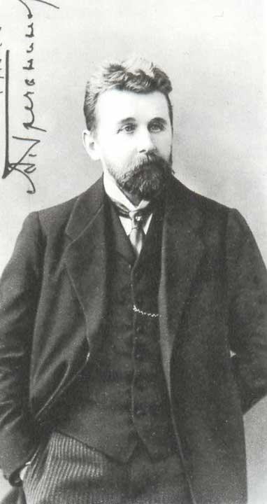 Alexander Grechaninov in 1912