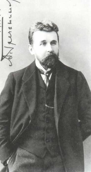 Alexander Grechaninov in 1912