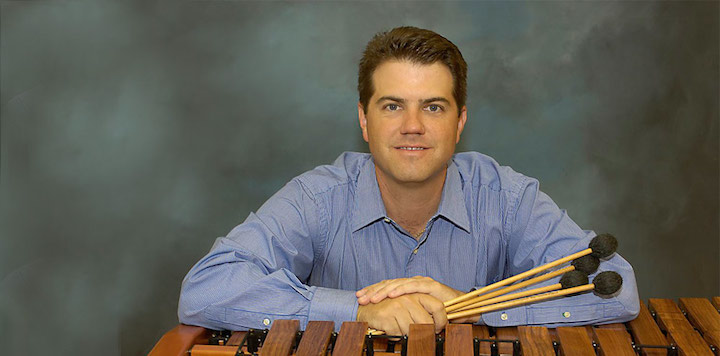 Andy Harnsberg with mallets