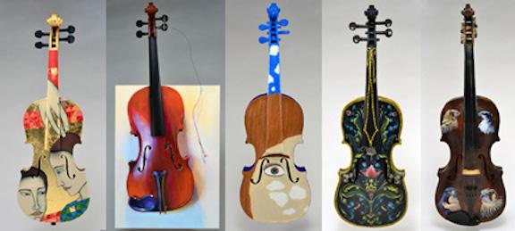 Art of Note violins 2014