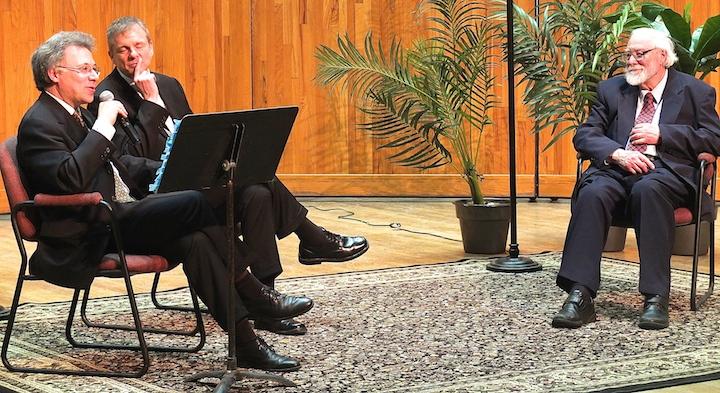 Benoit Mernier at Q&A with John W. Barker