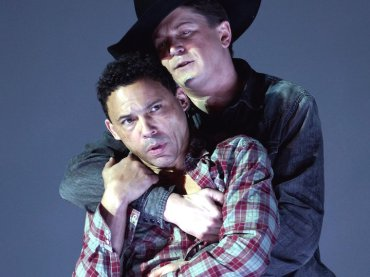 brokeback mountain opera tom randle (left) and daniel okulitch