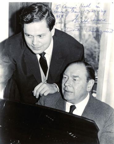 dietrich fischer- dieskau and gerald moore in 1967