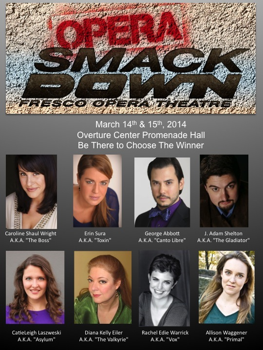 Fresco Opera Theatre cast for Opera SmackDown