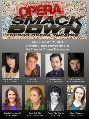 Fresco Opera Theatre cast for Opera SmackDown