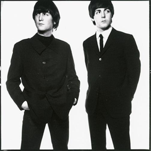 John Lennon and Paul McCartneyYoung John Lennon And Paul Mccartney