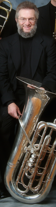 john stevens lon gprofile with tuba