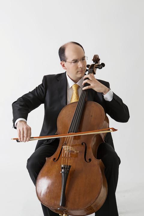 Mark Kosower with cello