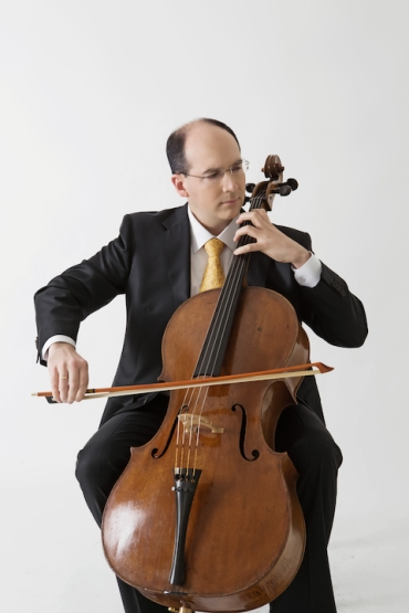 Mark Kosower with cello