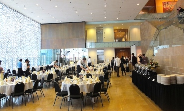 Mernier dinner at Chazen Museum
