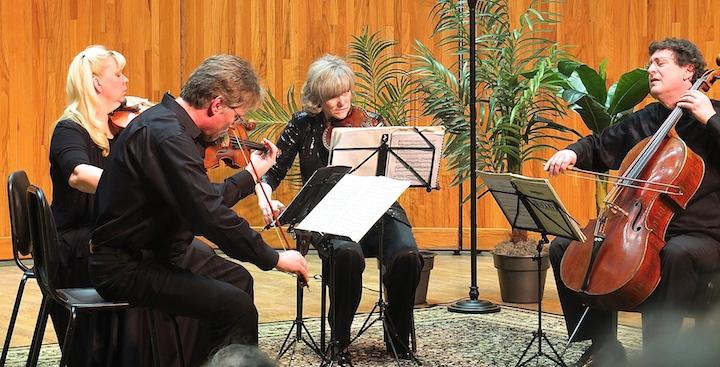Pro Arte Quartet in Haydn at Mernier
