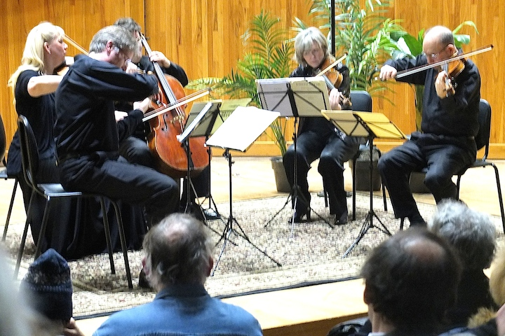 Pro Arte Quartet playing Bruckner