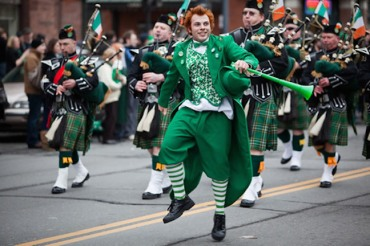 saint patrick's day parade albany 2010 leprechaun