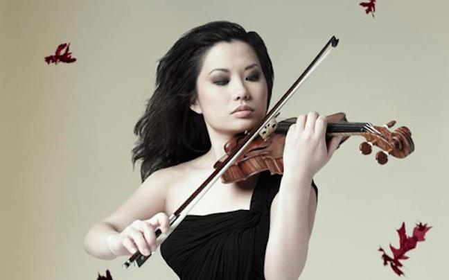 Sarah Chang playing