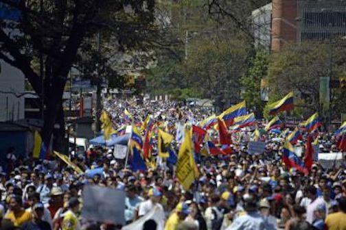 venezuela mass protests