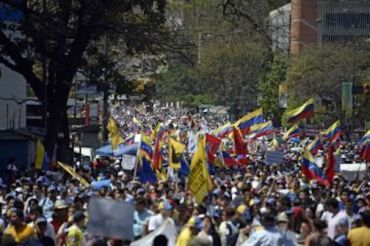 venezuela mass protests