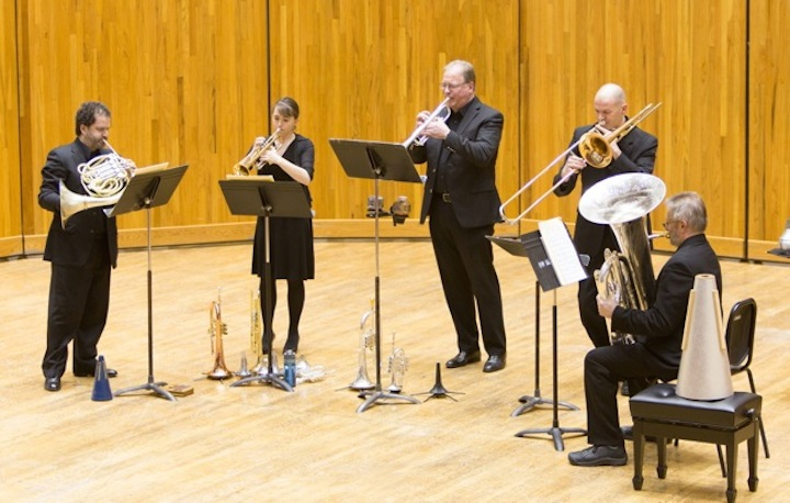 Wisconsin Brass Quintet 2013 CR Jon Harlow