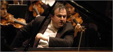 Yefim Bronfman emotional