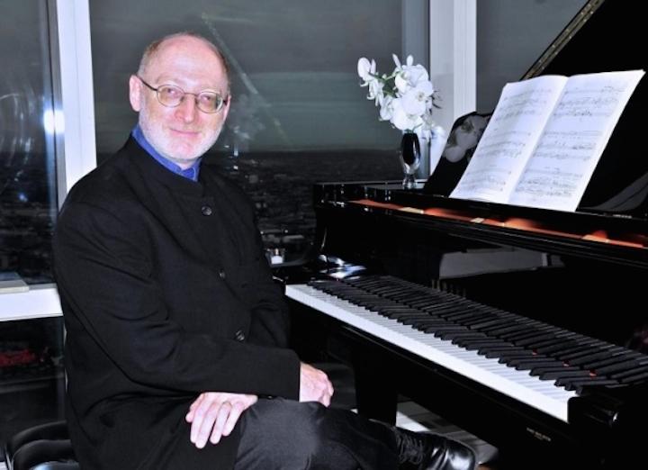 aaron jay kernis at piano