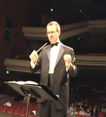 Adam Kluck conducting