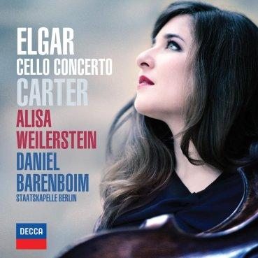 Alisa Weilerstein Daniel Barenboim Elgar and Dvorak CD