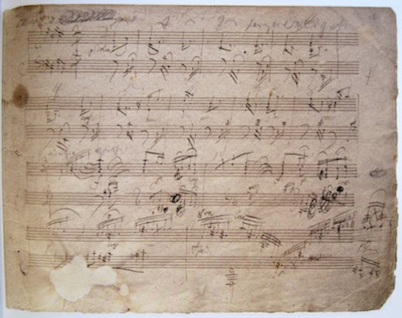 Beethoven ms Piano Sonata Op.109